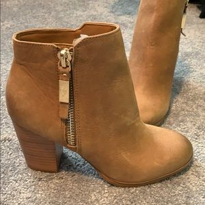 ALDO light brown booties
